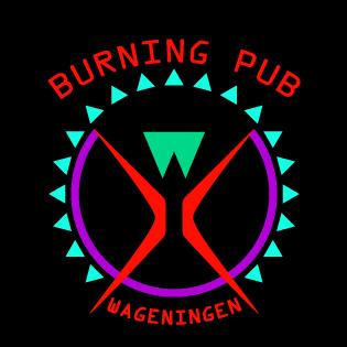 burningpubwageningen logo